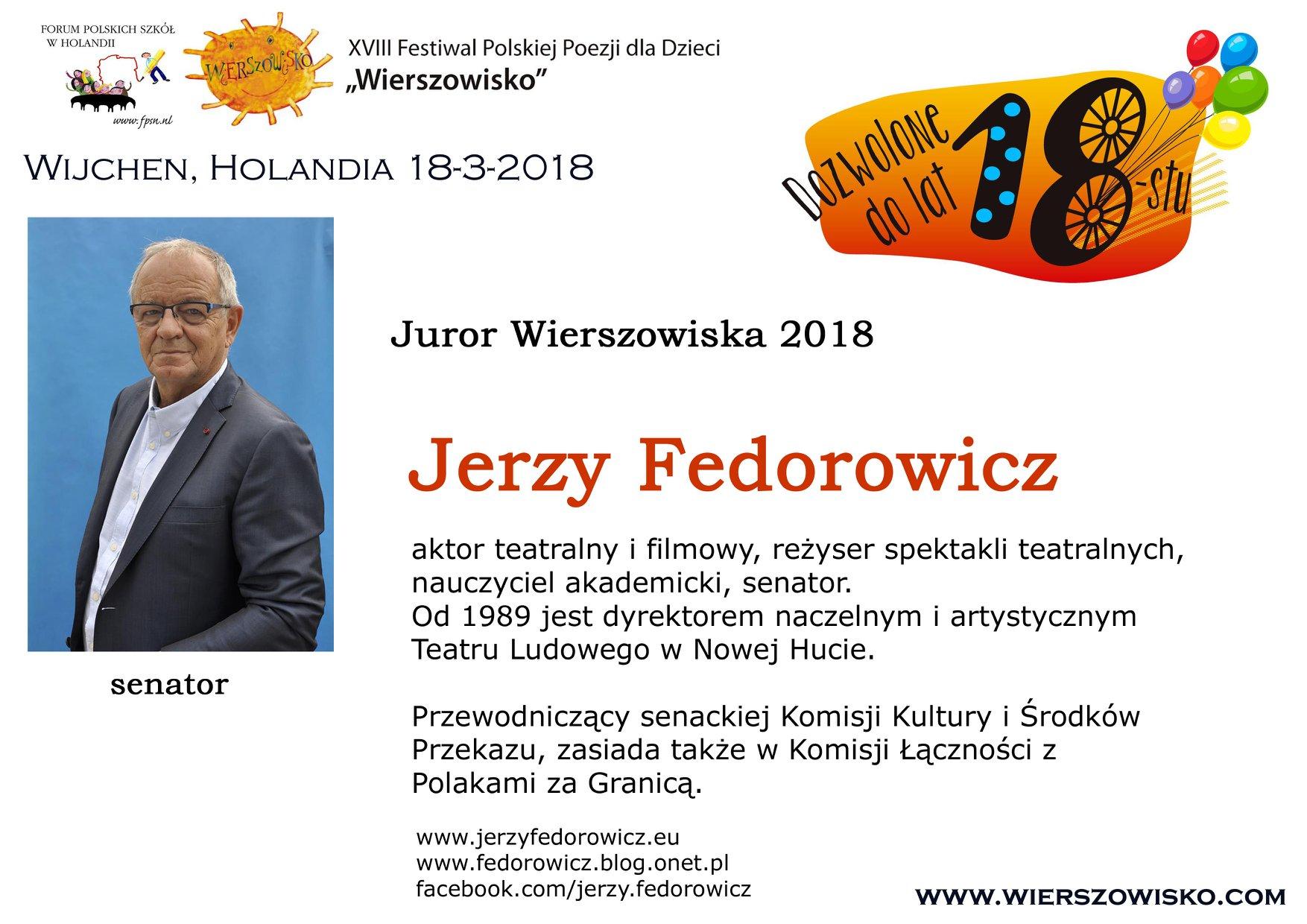 1. Jerzy Fedorowicz
