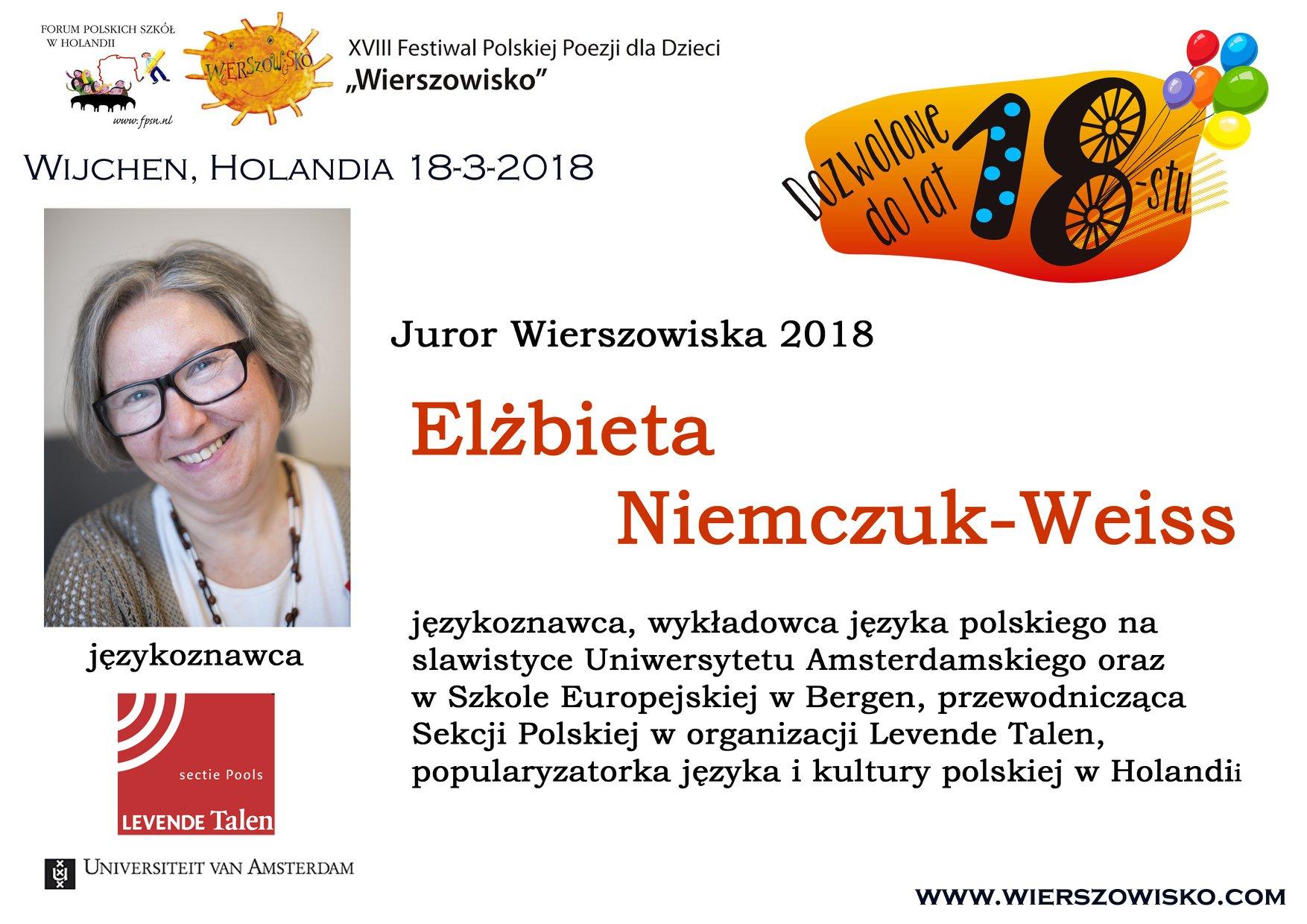 4. Elzbieta Niemczuk-Weiss