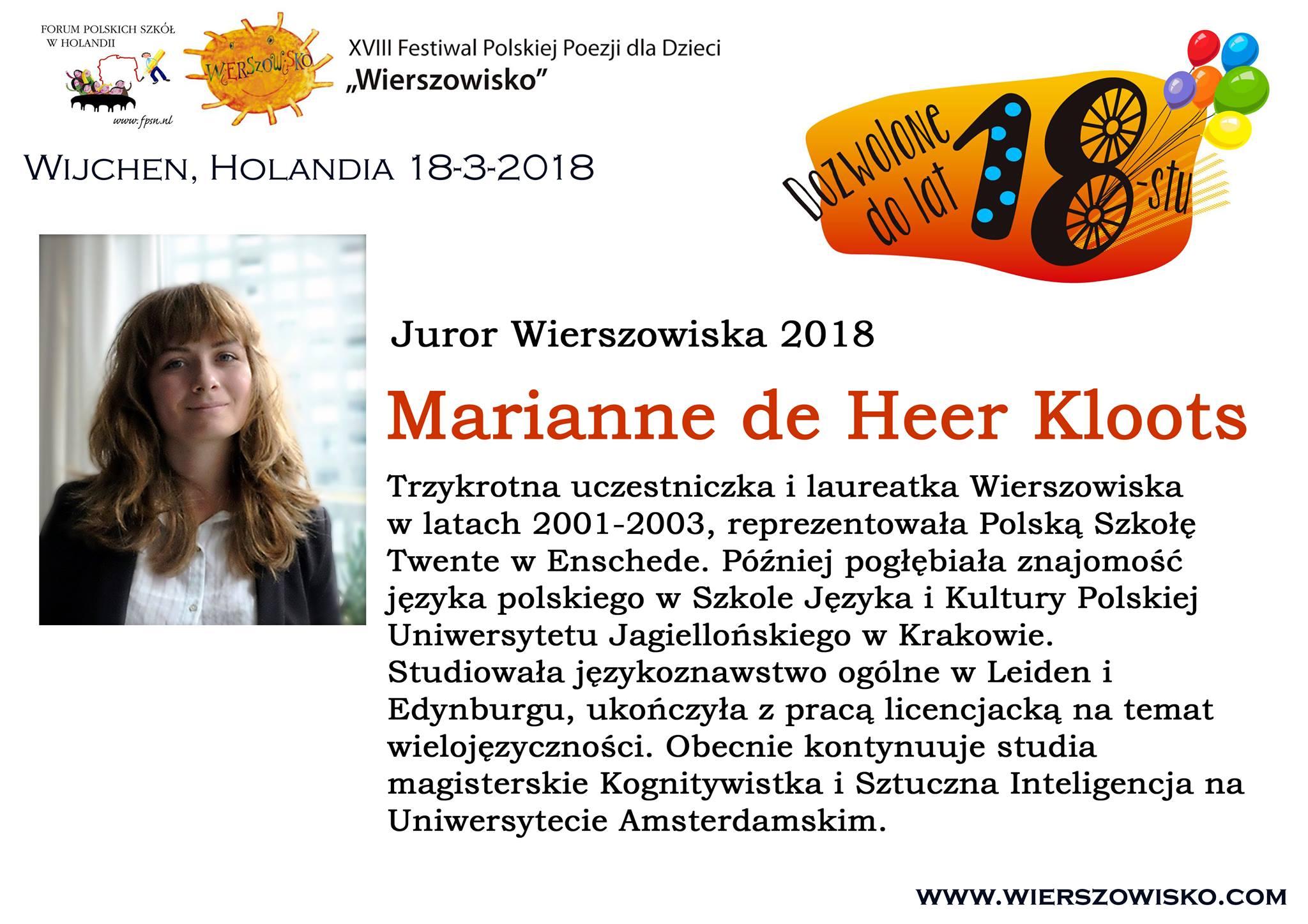 7. Marianne de Heer Kloots