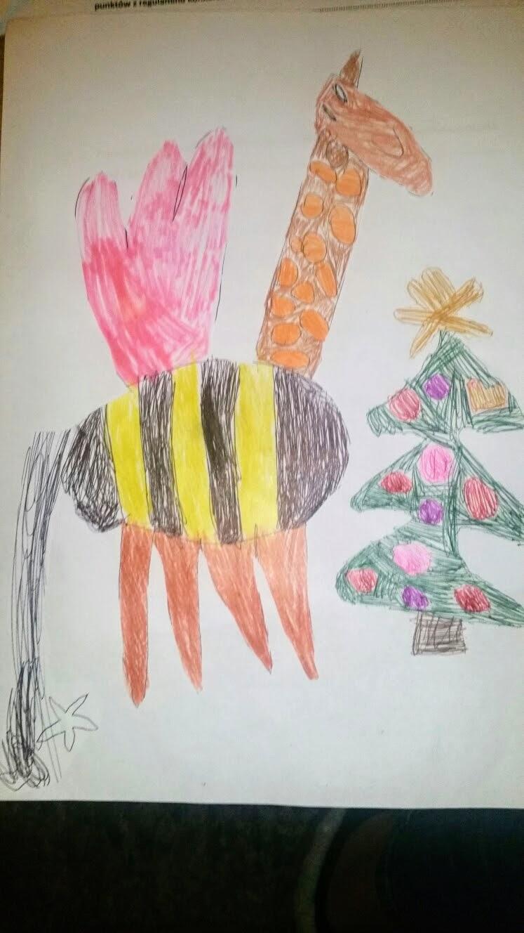 Sophie Vermeulen, 6 lat, Polska Szkoła Tillburg, kat. 5-6 lat, miejsce III