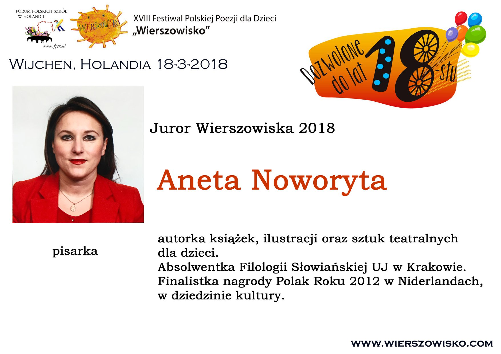 6. Aneta Noworyta